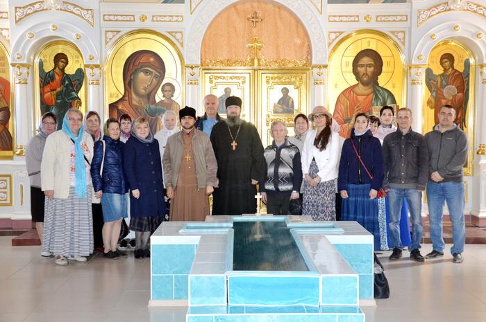 Паломническая поездка выпускников и студентов богословских курсов Кузнецкой Епархии