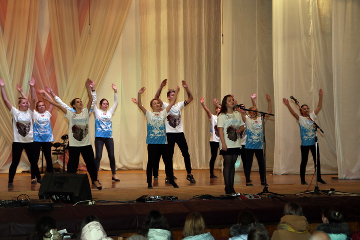 В рамках Рождественских чтений в Кузнецке прошел молодежный концерт