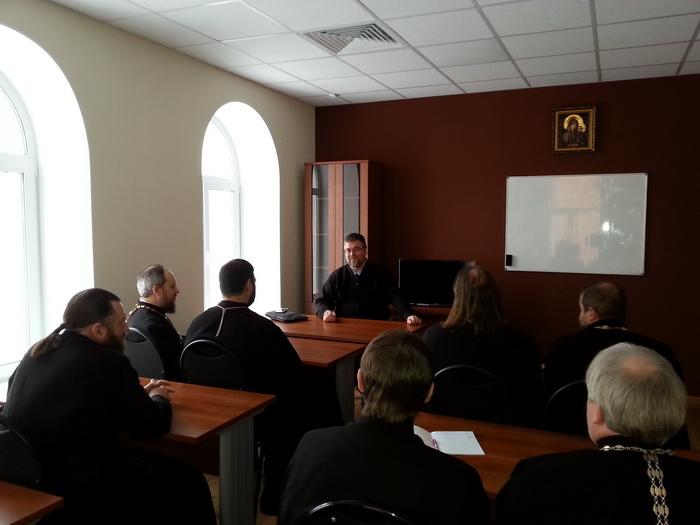 Курсы повышения квалификации для духовенства Кузнецкой епархии